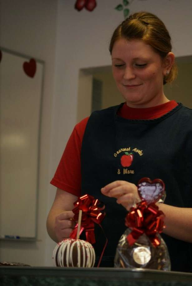 Gourmet Apples & More is gearing up for the influx of orders for Valentine's Day.