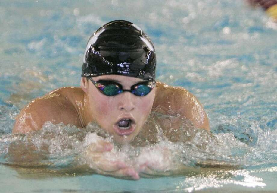 Willis's Will Waidhoffer competes in the 200-yard individual medley during Friday's prelims of the Region V-4A Swimming and Diving Championships at the Michael D. Holland Aquatic Center in Magnolia. To view or purchase this photo and others like it, visit HCNpics.com.