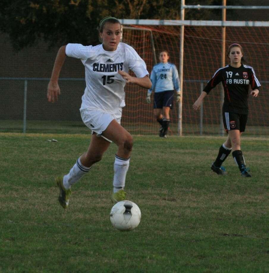 Savannah LaRicci is fourth on the team with six goals scored this season.