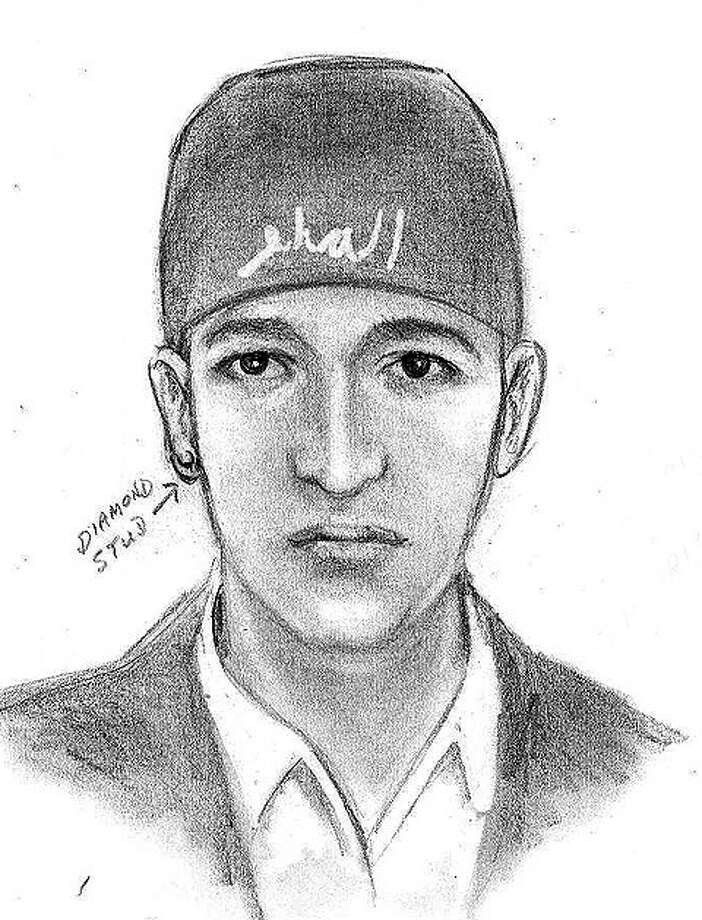 This is a sketch of one of three men who robbed a Sugar Land woman in her home on Feb. 8.