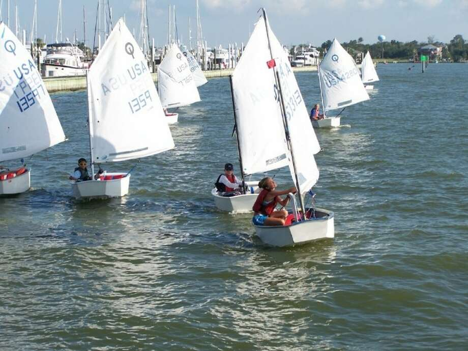 Young Seahorse sailors enjoy their sails under the watchful eyes of sailing coaches.