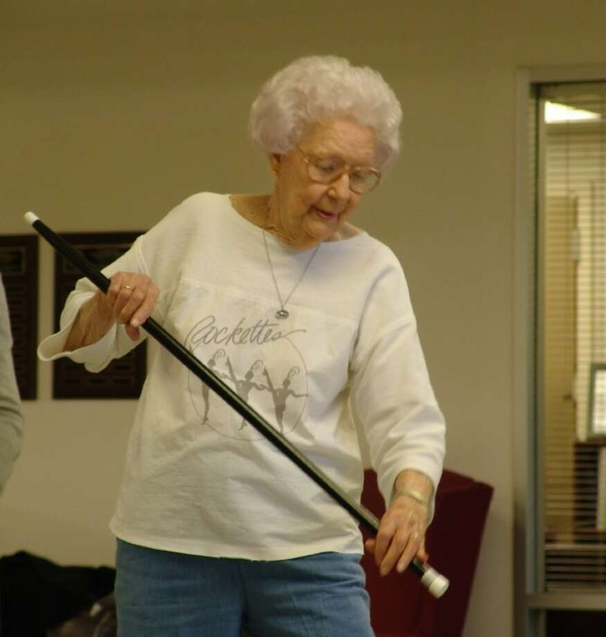 On many Friday mornings you'll find Jackie Arbegust at the Friendswood Activity Center tap dancing.