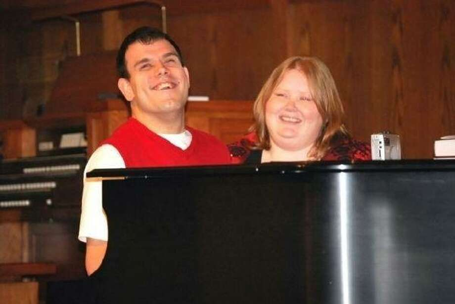 Pianist Shane Hetherington, assisted by Jennifer, stunned the audience with Christmas ballads at the Harbor Lights Choir Festival in December.