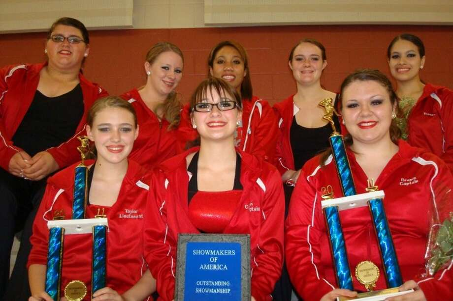 The Stars Drill Team at Splendora High School competed last month in San Antonio and won several officer and team awards.