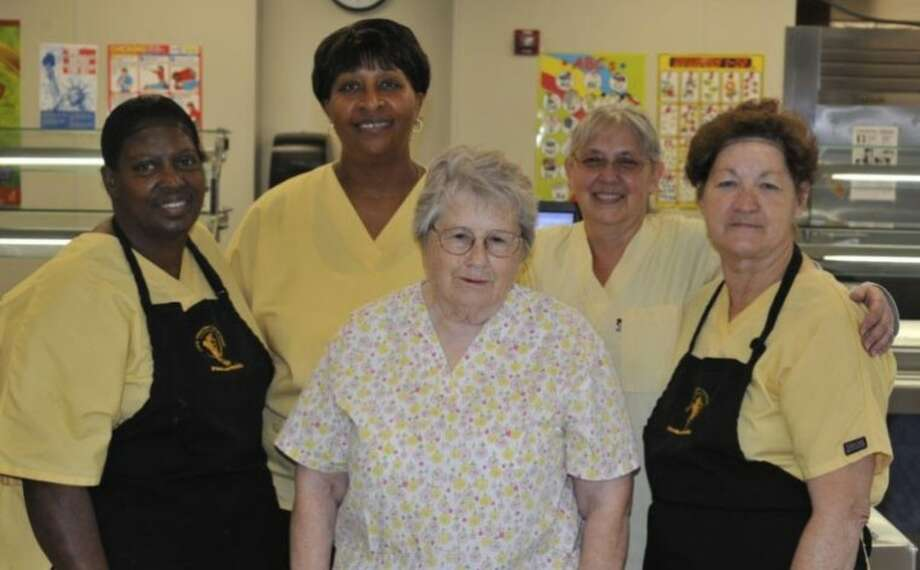 San Jacinto School food service staff Photo: ROBERT WARD
