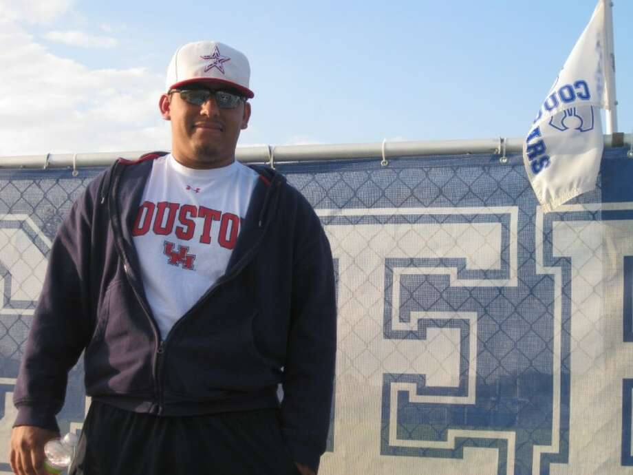 University of Houston student Justin Sarabia, a 2008 Cy Creek High graduate, enjoys following sports from preps to pros.