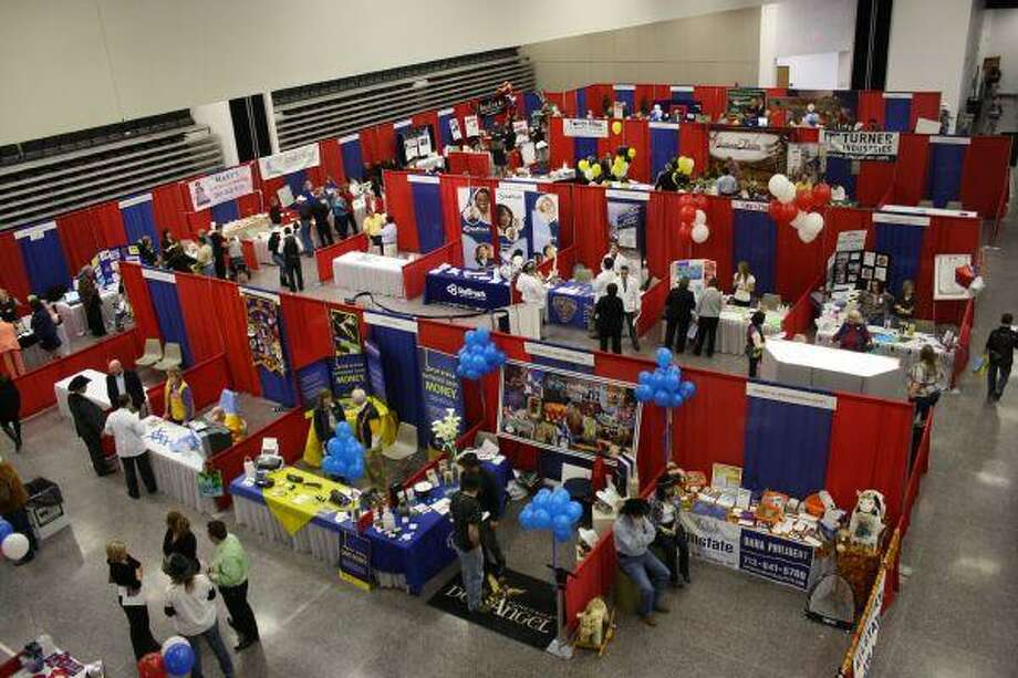 The 2010 Pasadena Chamber of Commerce Business Expo increased its numbers this year to include many vendors from outside Pasadena.