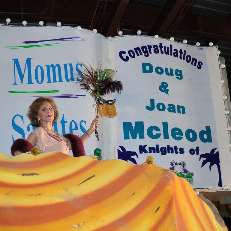 Joan Williams McLeod is a real estate broker by day, but come Mardi Gras time, she's all about letting the good times roll.