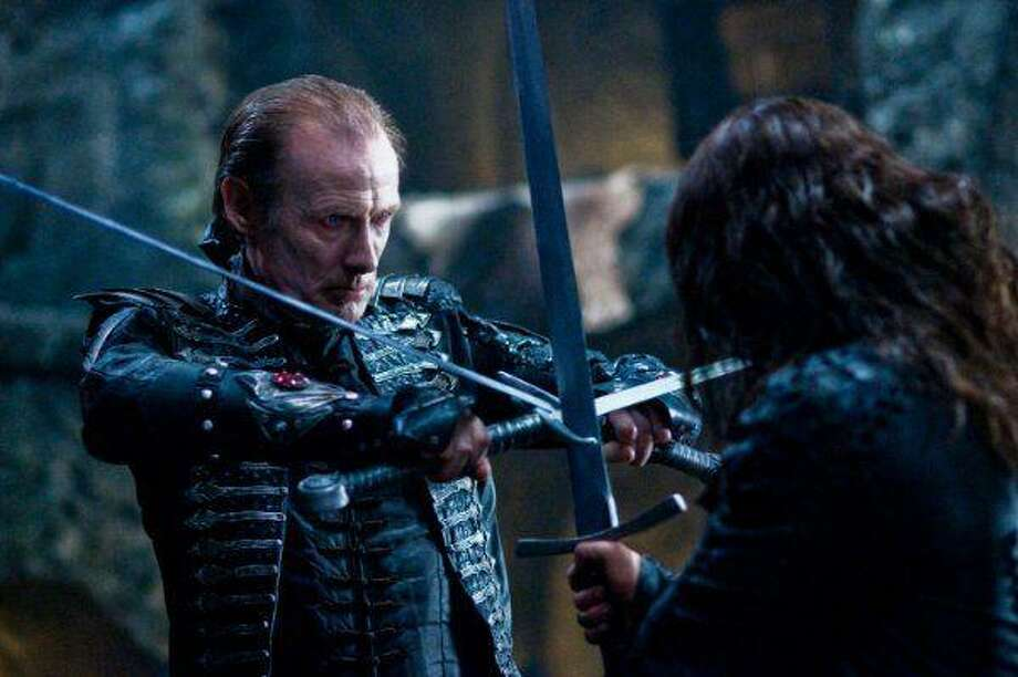 "Bill Nighy reprises his role as Viktor in ""Underworld: Rise of the Lycans."""