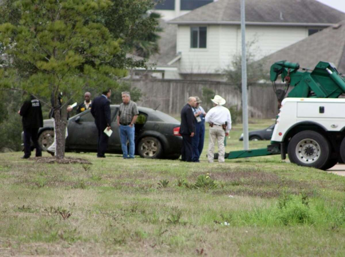 HPD has pulled a car from a small pond near the intersection of Highway 3 and Beltway 8 in southeast Houston. They believe a body they found in the car may be that of 82-year-old Lillian High, who went missing in October.