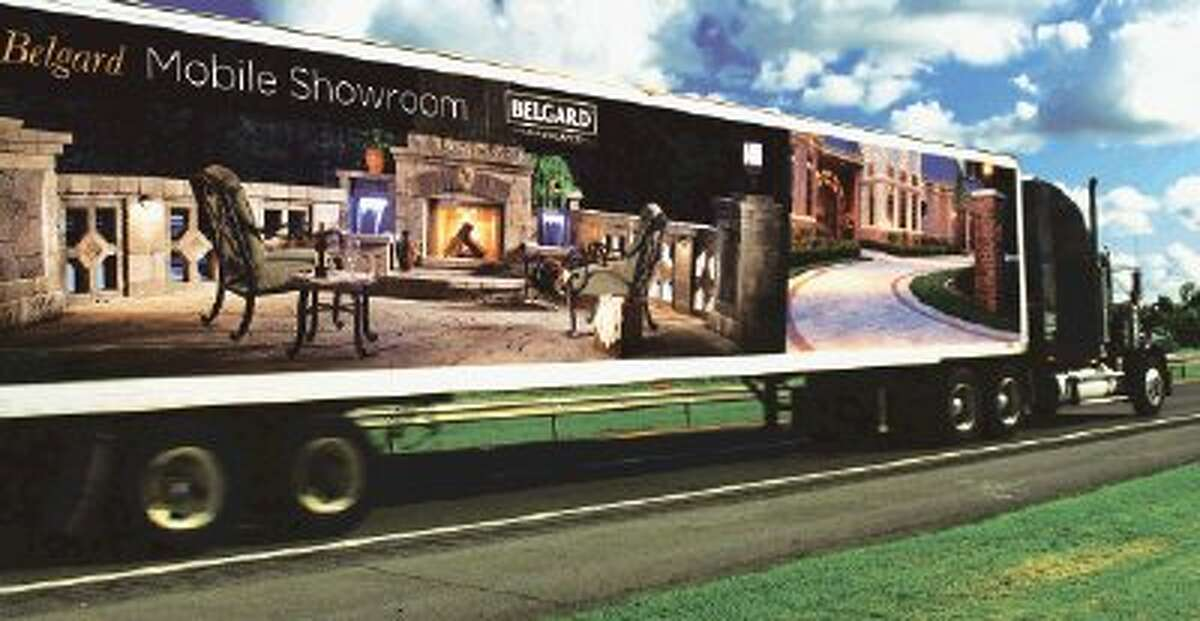 The Belgard Hardscapes Mobile Display will be at the Woodlands Home & Garden Show, Saturday and Sunday, March 2 & 3, at the Woodlands Waterway Marriot Hotel & Convention Center. The semi truck is filled with ideas to create the picture-perfect patio, and many other vendors offer products and services to enhance the home's outdoor space. For more information, visit www.woodlandsshows.com.