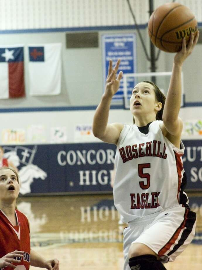 Rosehill Christian junior Karly Krantz was voted first-team All-State and District 7-3A MVP.