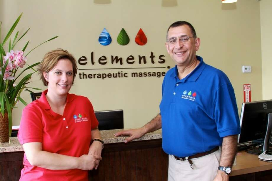 Sibel Mandalinci and her father, Matt, have opened Elements Therapeutic Massage in The Woodlands.