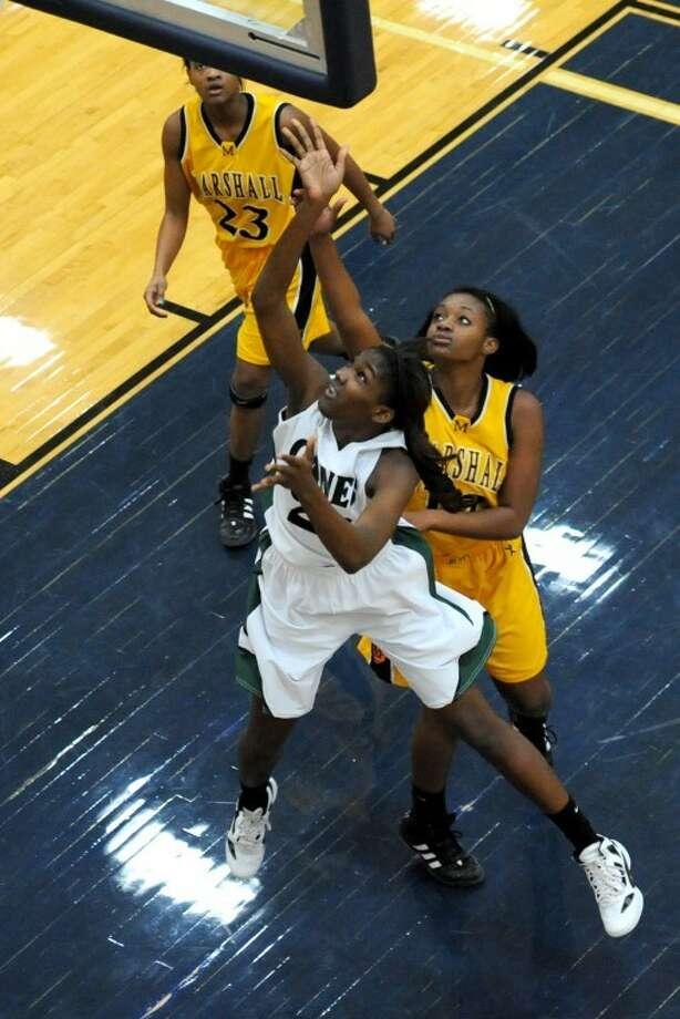 Hightower senior Jasmine Prophet will lead the Lady Canes into the second round of the playoffs Friday night. (Photo by Craig Moseley/Photosbymose.com) Photo: Craig Moseley