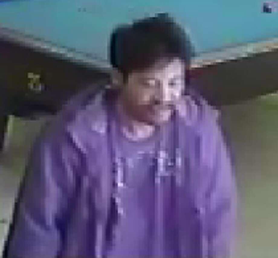 Surveillance video captured the above suspect.