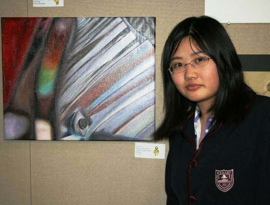 Zuoni An, a Bellaire High School student, earned Gold Key recognition for her artwork in the regional competition of 2010 Scholastic Art & Writing Award sponsored by the Harris County Department of Education.