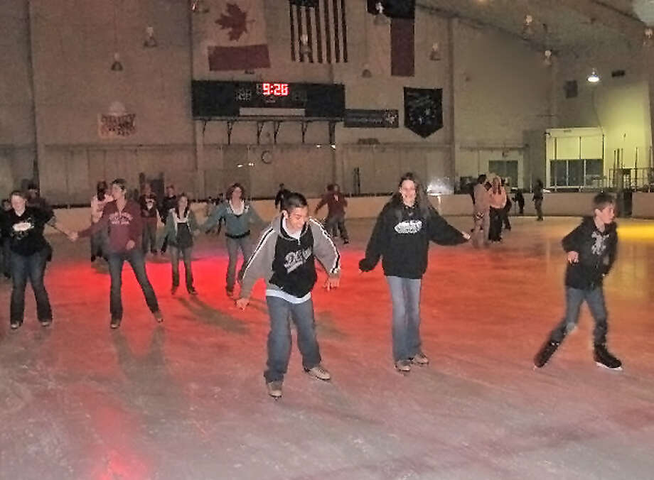 The Areodrome Skating Complex is a great place for family exercise.