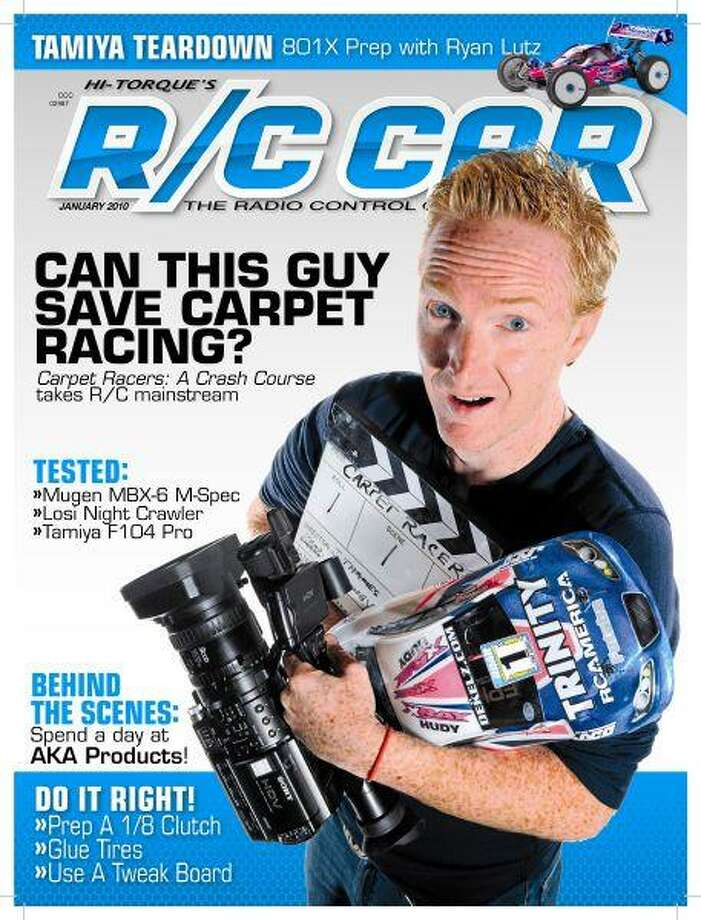 Former Kingwood resident was recently featured on the front of R/C Car magazine due to his recently released documentary he produced about the world of professional radio control car racing.