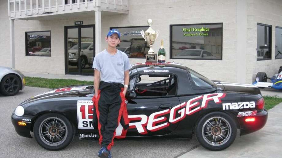 Timothy Reger will be available for photos and autographs at the Memorial High School Car Show. Photo: Submitted