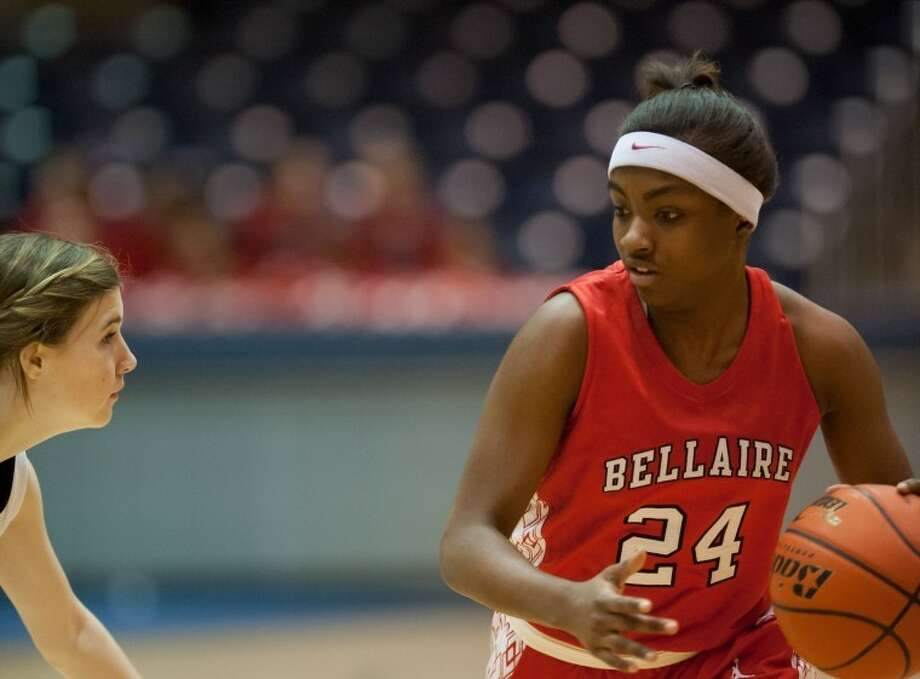 Bellaire senior Raven Burns was voted District 20-5A Player of the Year after leading the Lady Cardinals to district and area championships. Photo: Kevin B Long/GulfCoastShots.com