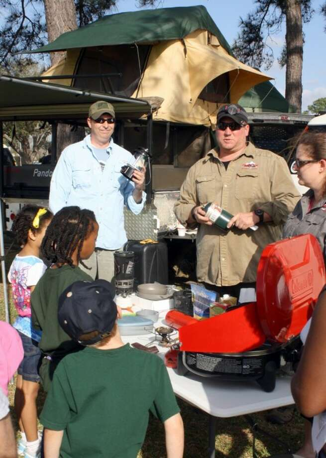 Independence Park hosted the first ever Families and Flashlights event organized by Pearland Parks and Recreation recently.