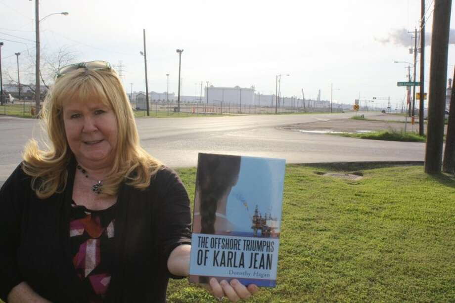 Pasadena author Dorothy Hagan's new book, The Offshore Triumphs of Karla Jean, takes the reader on a journey through the ups and downs of a strong female protagonist. The story is set against the backdrop of the petrochemical industry and Houston Ship Channel. Photo: Y.C. Orozco