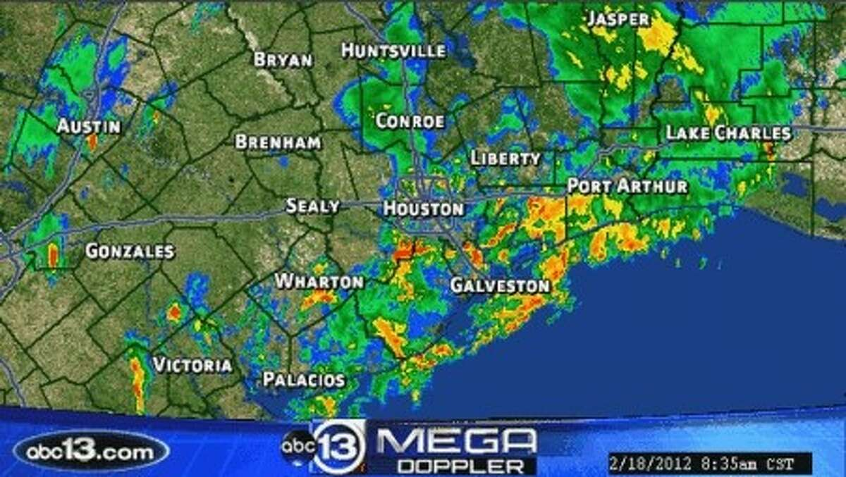 Fast moving storms slammed the Houston area overnight and into the morning.
