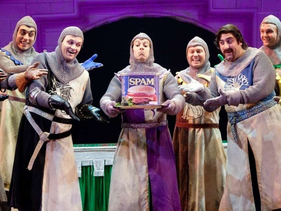 Always looking at the bright side, the cutups of Spamalot return to TUTS next season.