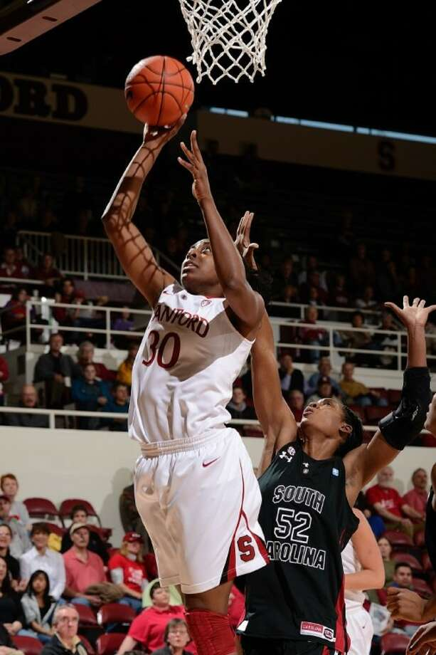 Stanford senior Nnemkadi Ogwumike has helped the Cardinal get to the Final Four and is looking for a national championship. Photo: FILE PHOTO