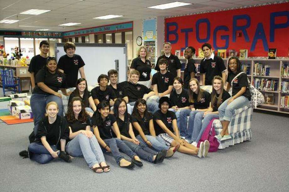 Clear Brook High School's Speech and Debate team has collected more than 2,000 books for CCISD elementary libraries over the past two years.