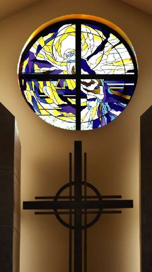 Atascocita Presbyterian Church recently dedicated its new sanctuary, for which this stained-glass window was commissioned.