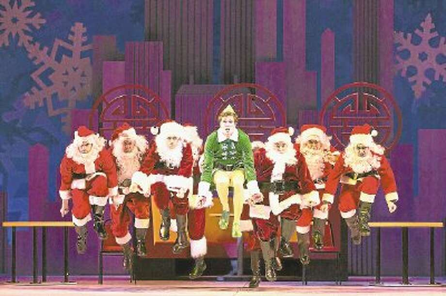 """Elf - The Musical"" will run on the TUTS stage Dec. 6-19. / @WireImgId=2615471"