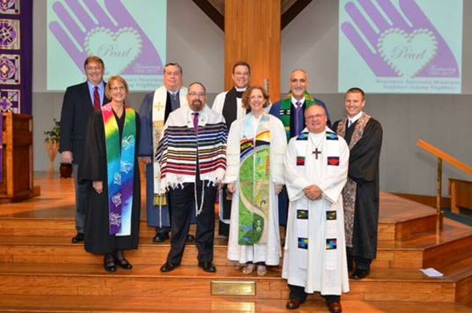 Clergy from nine congregations participated in an interfaith service to celebrate the 30th anniversary of Northwest Assistance Ministries.
