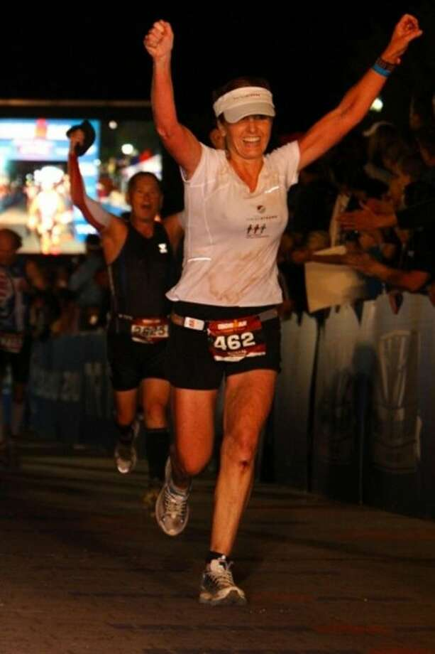 Dr. Susan Hardwick-Smith of Houston, TX finishes her first Ironman Triathlon raising 31,000 to benefit the Houston-based West Africa Fistula Foundation (WAFF). Dr. Hardwick-Smith will travel to Sierra Leone to volunteer her surgical skills to help some of the 2-3 million women who suffer from Obstetric Fistulas worldwide. Virtually unheard of in the United States, Obstetric Fistulas are the result of poor or nonexistent healthcare. Dr. Hardwick-Smith fund-raises to provide badly needed medical treatment, and a working staff within the country to establish local care and treatment for this terrible condition.