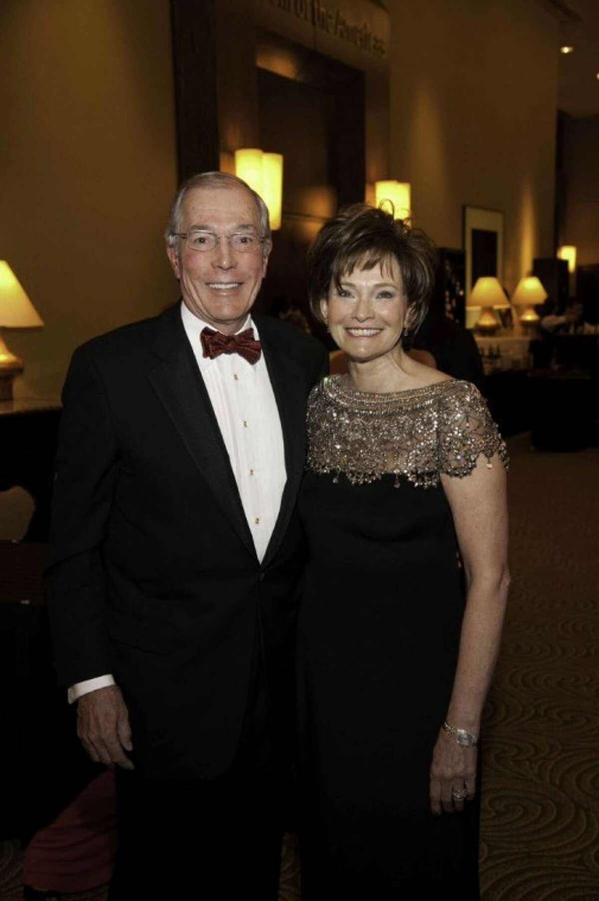 This year's event chairs John and Bobbie Nau. (Photo by Alexander's Fine Portrait Design, submitted by American Heart Association)