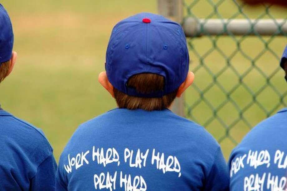 Work hard, play hard and pray hard are YMCA values.