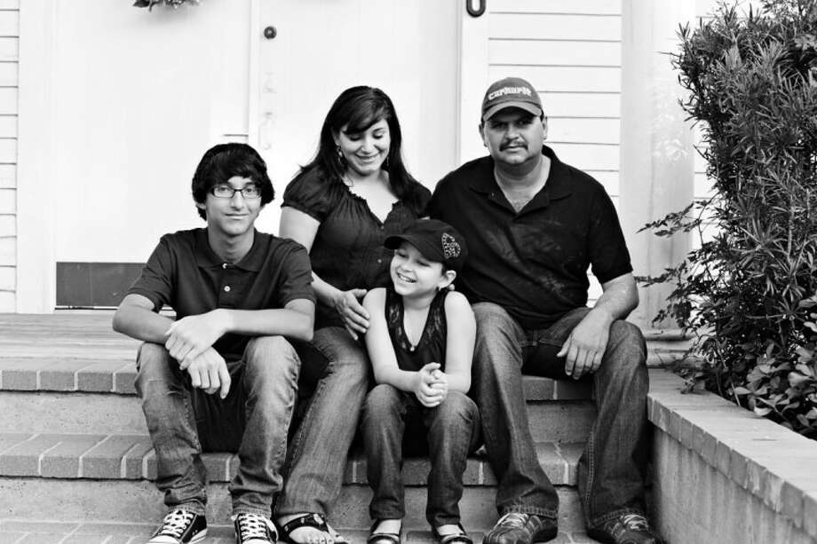 Photo by Wendi SchoffstallEmily Pena and her family.