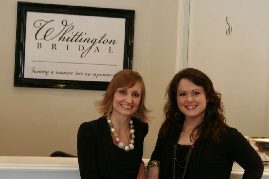 Kingwood natives and Texas A&M alumni Jenna Butler Whittington and Kari Earhart Whittington recently opened Whittington Bridal in Kingwood. The duo works with the motto and goals to turn a moment into an experience by ensuring that brides feel special and loved from start to finish.