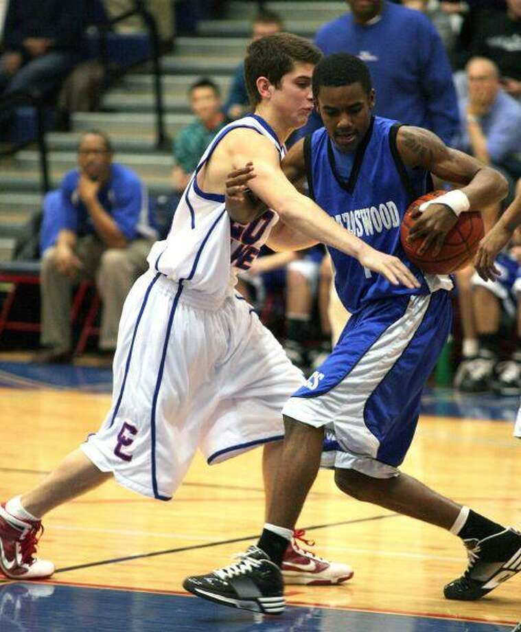 Lake's Blake Gregorcyk goes for a steal.