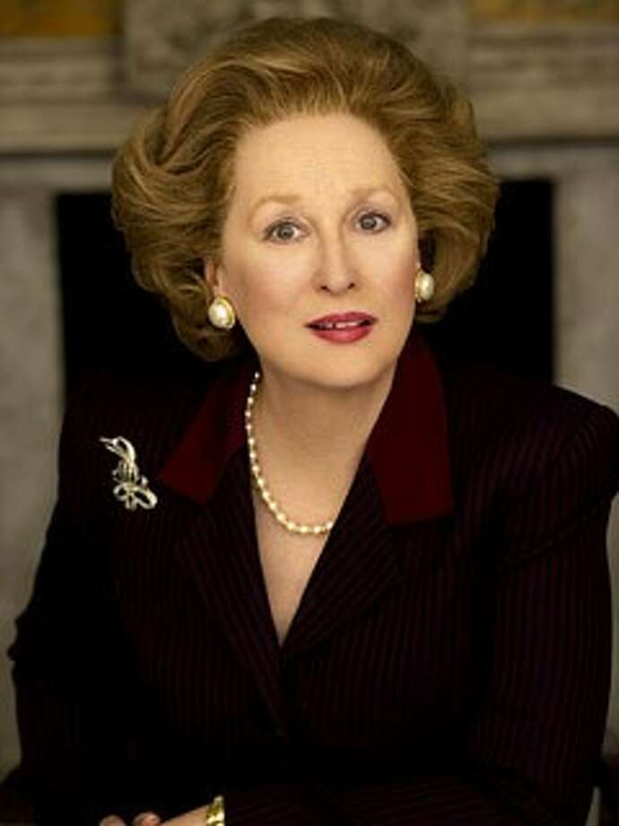 """Meryl Streep is a contender for the Best Actress Oscar for her portrayal of Margaret Thatcher in """"Iron Lady."""""""