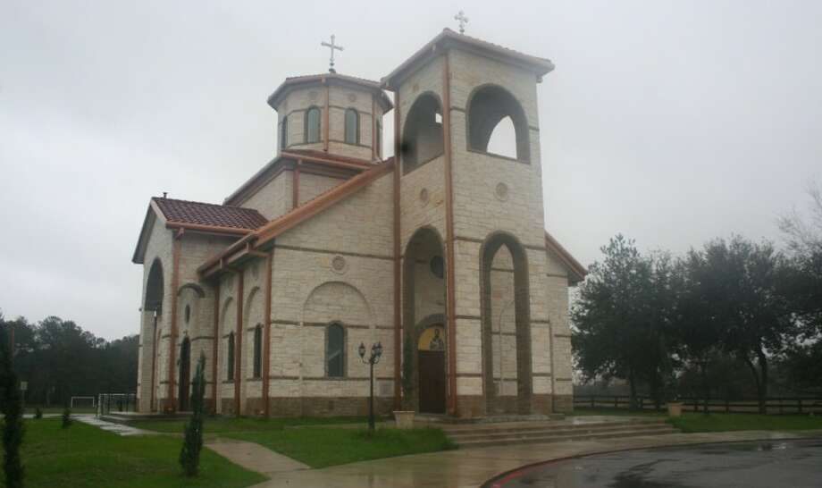 Photo by REBECCA BENNETT/The MirrorThe architecture of the parish building was modeled after the traditional Byzantine style with some Serbian elements.