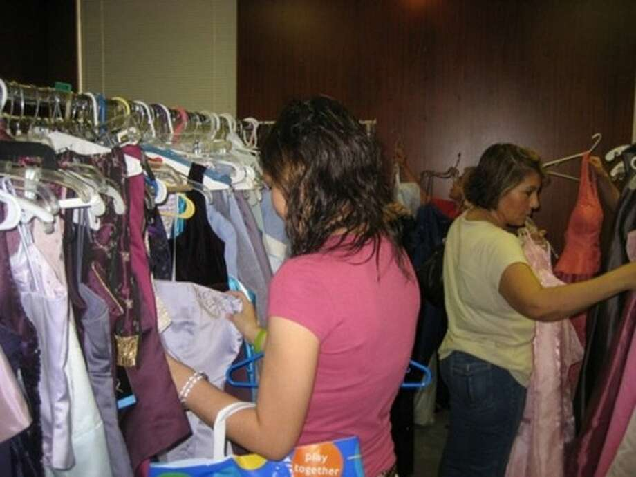 Submitted photoThe Fairy Godmother Project of Houston collects dresses and other prom accessories and donates them to students in financial need at Houston area high schools.