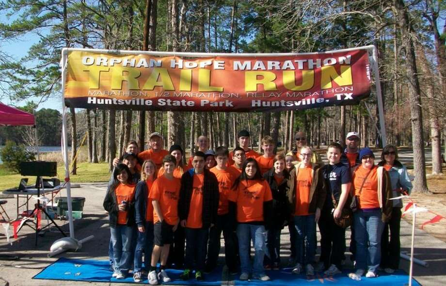 HNW student ministry provided the services for two aid stations at Orphan Hope Marathon.