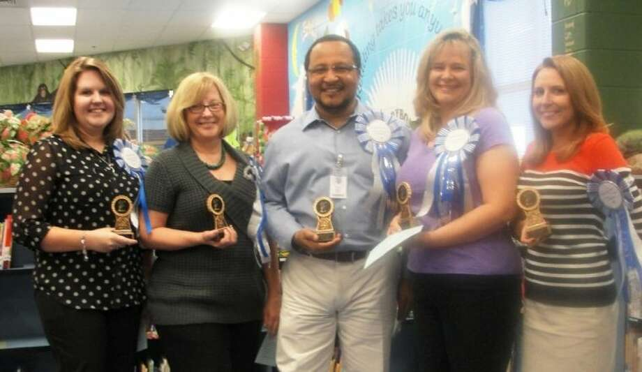 Creech Elementary Teacher of the Year nominees were recently honored. Photo: Sue Creech Elementary PTA