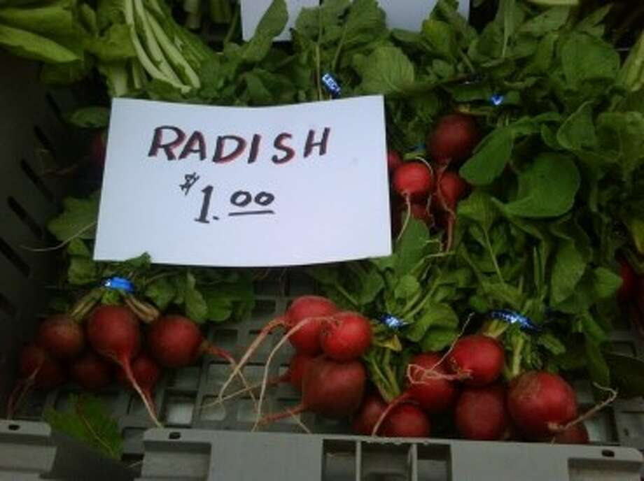 Fresh radishes were sold at last year's farmer's market in Tomball.Submitted Photo