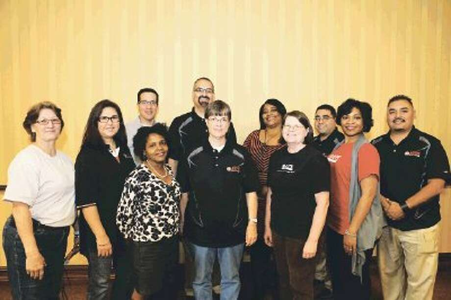 Cypress Fairbanks ISD educators who participated in Lobby Day, Feb. 11, at the Texas State Capitol.