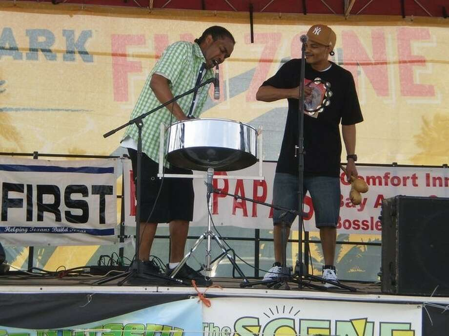 Freddy Harris III on the drums and Kofi Harris from last year's Pam Jam Festival. Photo: SUBMITTED PHOTO