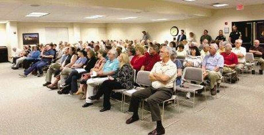 Shenandoah's City Council chambers were standing room only during the election forum Tuesday night. Three positions on the council are up for election, and all of the races are contested.