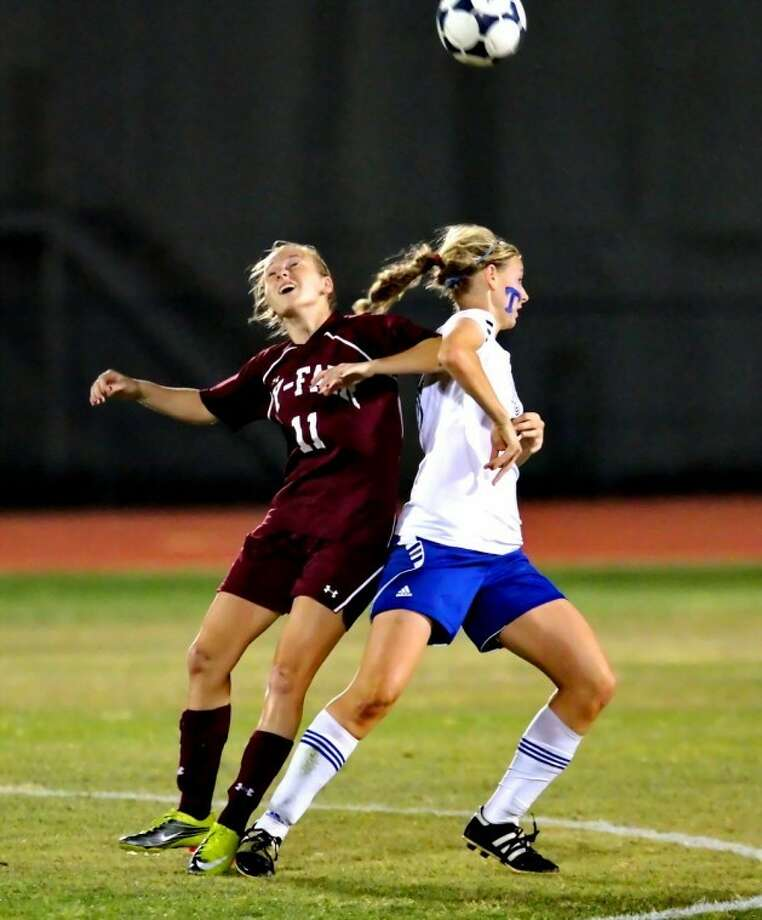 The Class 5A-District 17 co-champion Cy-Fair High girls soccer team lost to Katy Taylor, 2-0, on Friday night.