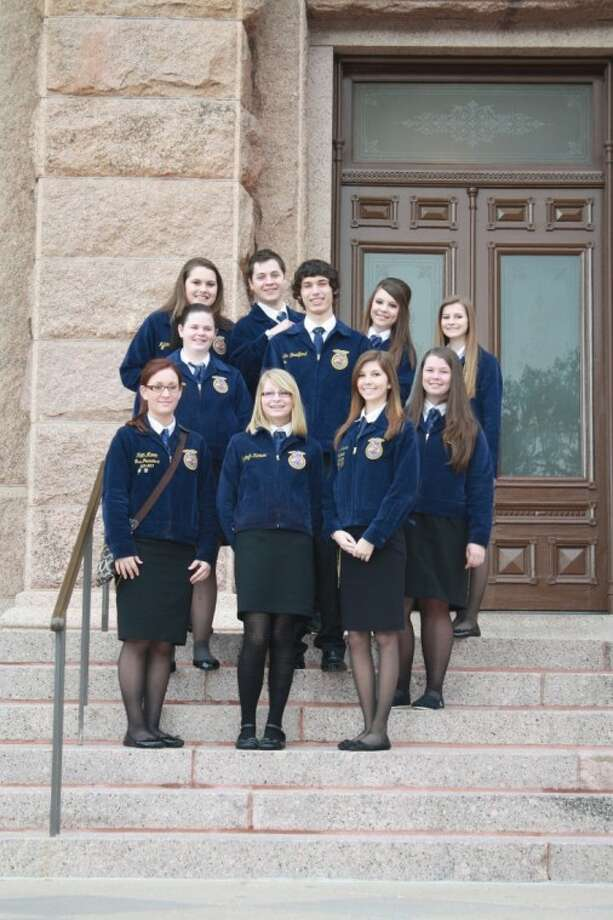 FFA students from Atascocita High School traveled to Austin for the Texas FFA Day at the Capitol Feb. 21.